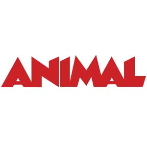 """Animal"" Bande Dessinée Magazine Logo"